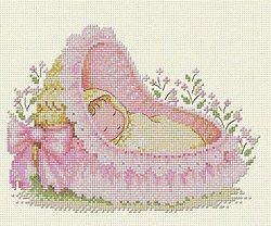 Вышивка рождение дочки 89