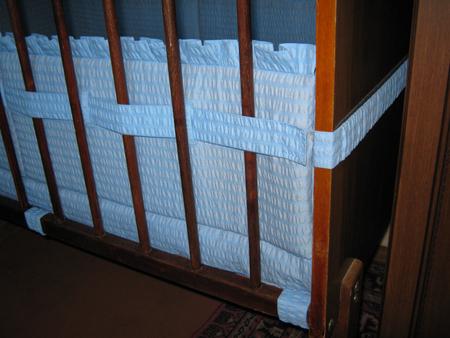 Для Как сшить балдахин на детскую кроватку