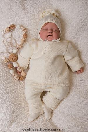 """Комплект для новорожденного  """"Нежный """" ."""
