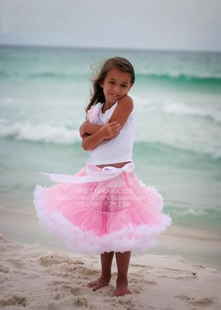 Пышной юбки простая для девочки на рост 128-140