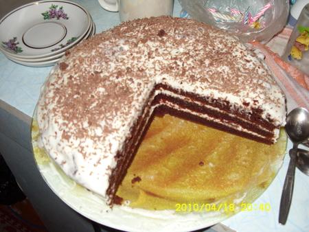 как печь торты с фото