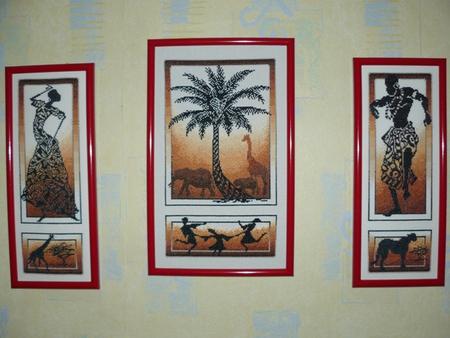 Картины и панно в Африканском