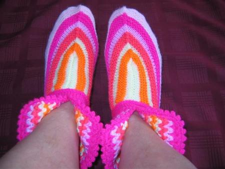 Способ вязания носков с носка 124